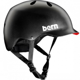 BERN Watts Water Helmet Gel Coat Carbon Fiber