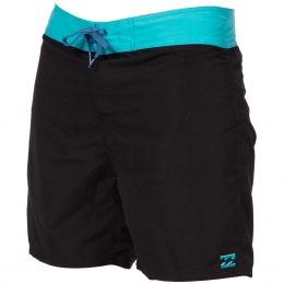 Billabong ALL DAY SHORTCUT 17 BLACK/AQUA 2016